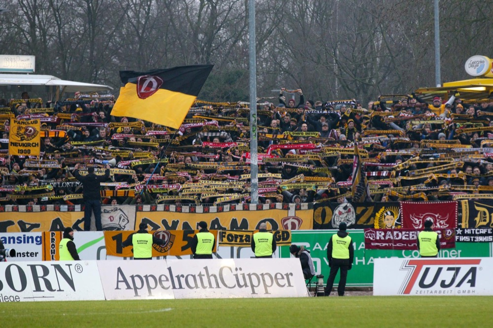 26. Spieltag; Dynamo Dresden - SV Wehen Wiesbaden