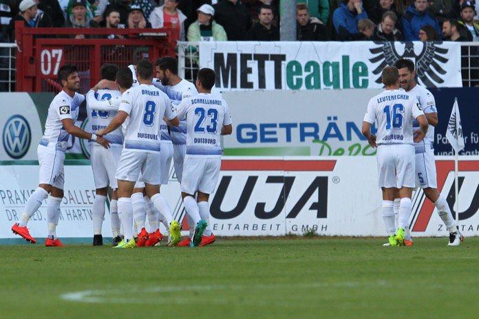 3. Spieltag 16/17: Preußen Münster - MSV Duisburg