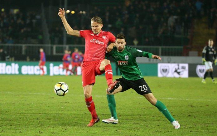 22. Spieltag 17/18: Preußen Münster - Würzburger Kickers - Bild
