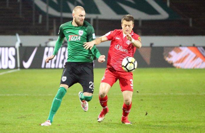 22. Spieltag 17/18: Preußen Münster - Würzburger Kickers