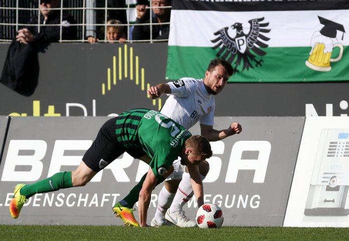 12. Spieltag 18/19: Preußen Münster - Würzburger Kickers - Bild