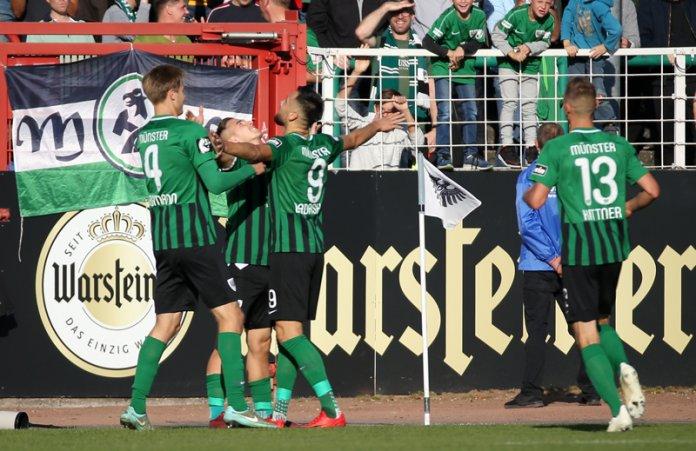 12. Spieltag 18/19: Preußen Münster - Würzburger Kickers