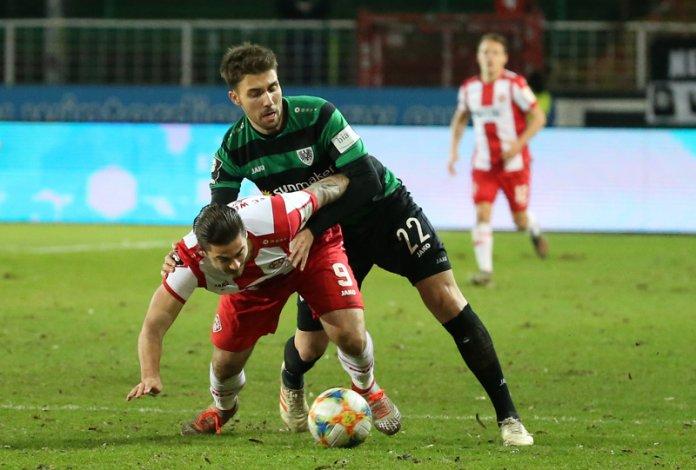 24. Spieltag 19/20: Preußen Münster - Würzburger Kickers
