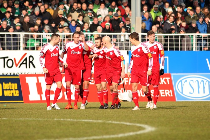 27. Spieltag; Holstein Kiel - Rot-Weiß Erfurt