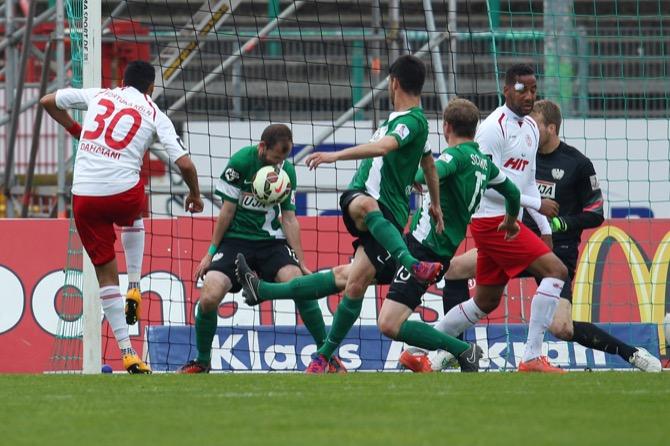 Münster besiegt Köln mit 1:0 - Spielbericht