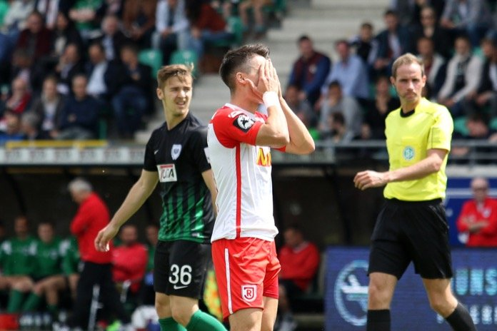 38. Spieltag 16/17: Preußen Münster - Jahn Regensburg