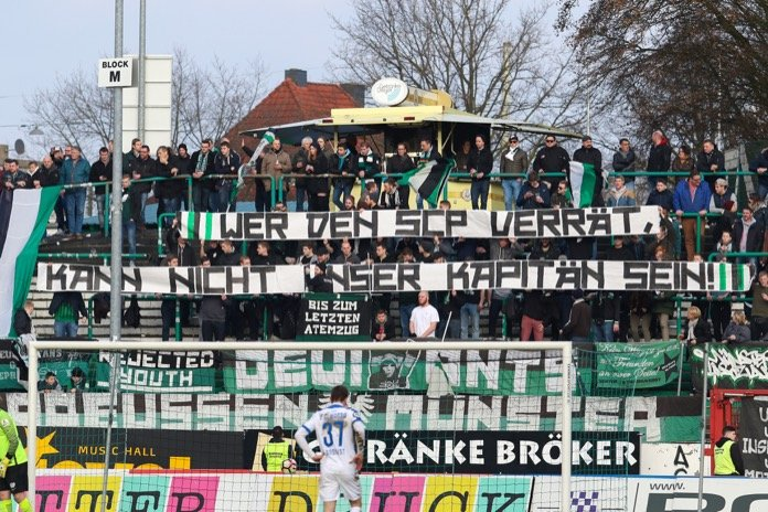 21. Spieltag 16/17: Preußen Münster - Hansa Rostock