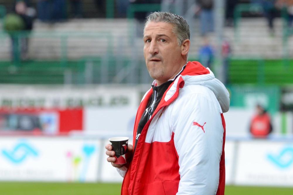 26. Spieltag; VfB Stuttgart II - SG Sonnenhof Großaspach