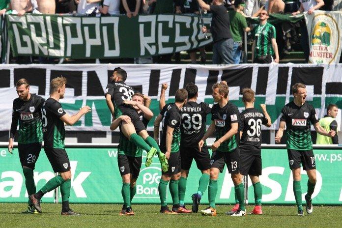 4. Spieltag; SC Preußen Münster – SV Werder Bremen II