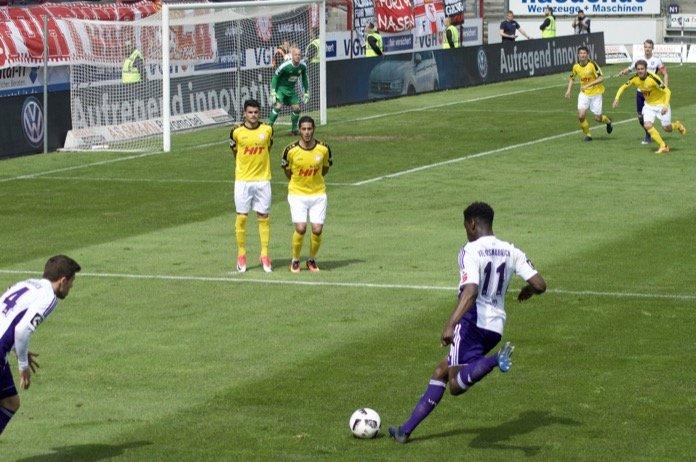36. Spieltag 16/17: VfL Osnabrück - Fortuna Köln