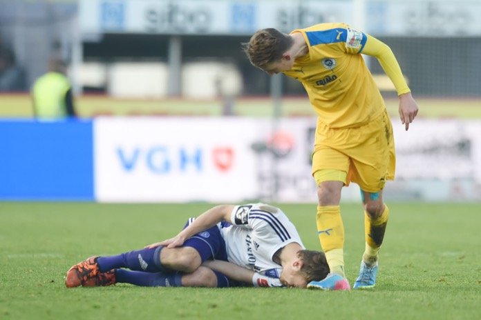 16. Spieltag 16/17: VfL Osnabrück - Sportfreunde Lotte