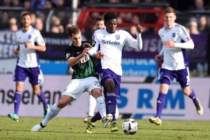 20. Spieltag 16/17: VfL Osnabrück - Preußen Münster