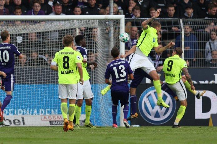 2. Spieltag 17/18: VfL Osnabrück - SV Wehen Wiesbaden