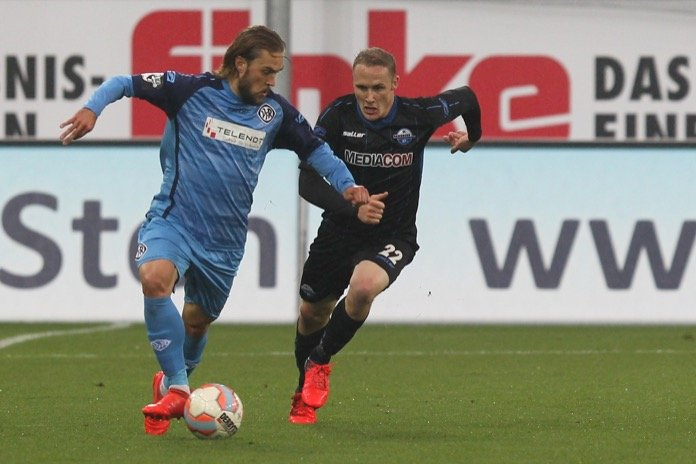 13. Spieltag; SC Paderborn – VfR Aalen