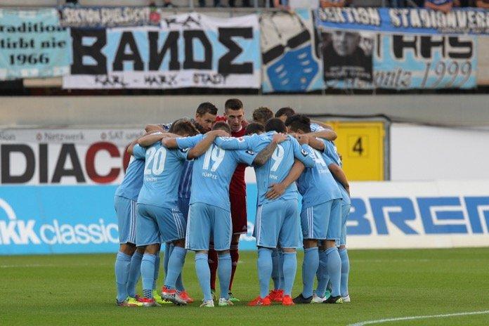 21. Spieltag; Chemnitzer FC – Hallescher FC