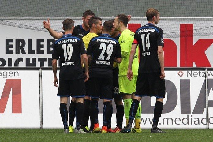 30. Spieltag 16/17: SC Paderborn 07 - Sonnenhof Großaspach
