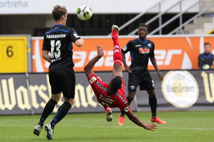 4. Spieltag 17/18: SC Paderborn 07 - Sonnenhof Großaspach - Bild