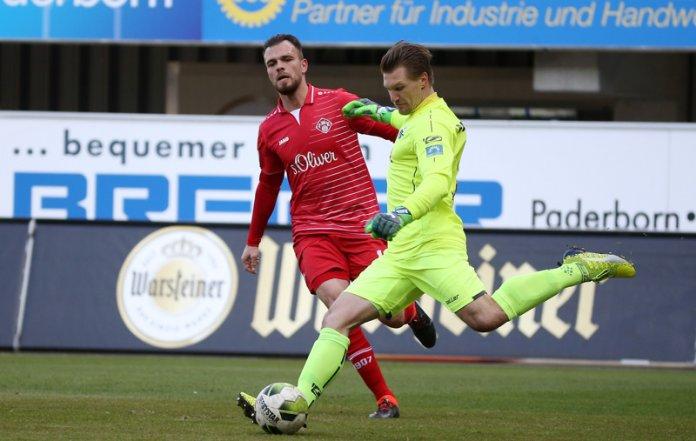 26. Spieltag 17/18: SC Paderborn 07 - Würzburger Kickers