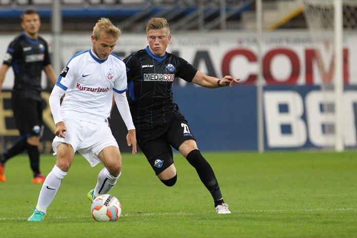 10. Spieltag 16/17: SC Paderborn 07 - Hansa Rostock
