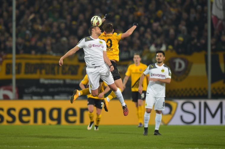 Dresden verliert im Pokal gegen den BVB (FOTOSTAND)