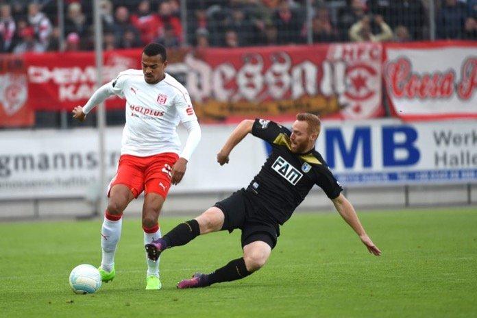 35. Spieltag; Hallescher FC – 1. FC Magdeburg