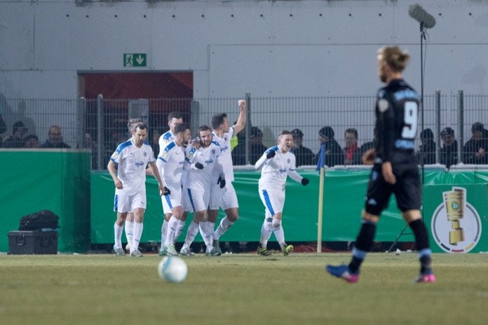 DFB-Pokal 16/17: Sportfreunde Lotte - 1860 München