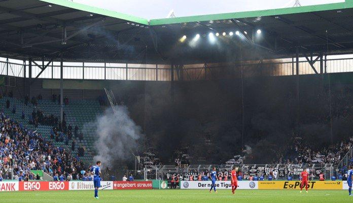 DFB-Pokal: 1. FC Magdeburg - Eintracht Frankfurt