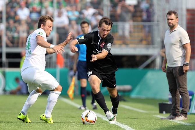 Kickers im DFB-Pokal (Frank Scheuring)