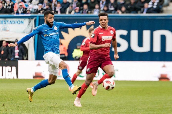 19. Spieltag 18/19: Hansa Rostock - VfR Aalen - Bild