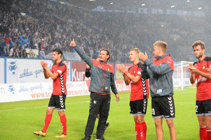 5. Spieltag; SG Sonnenhof Großaspach – Hallescher FC