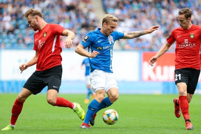 5. Spieltag 19/20: Hansa Rostock - Sonnenhof Großaspach - Bild
