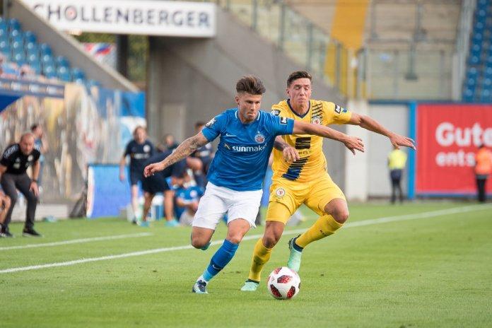 2. Spieltag 18/19: Hansa Rostock - Eintracht Braunschweig - Bild