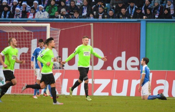 19. Spieltag 16/17: Hansa Rostock - Chemnitzer FC