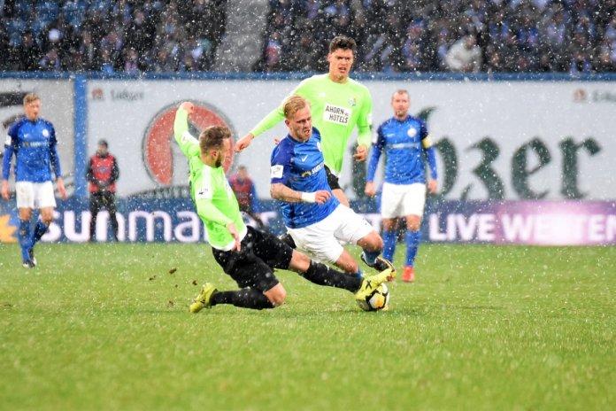 19. Spieltag 17/18: Hansa Rostock - Chemnitzer FC