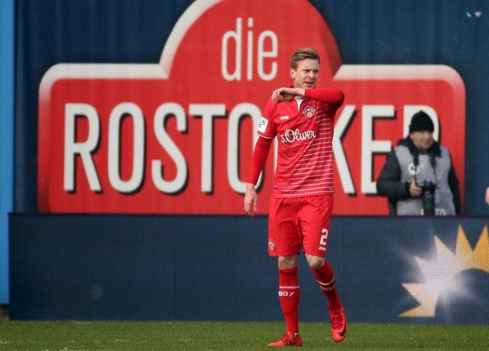 24. Spieltag 17/18: Hansa Rostock - Würzburger Kickers - Bild