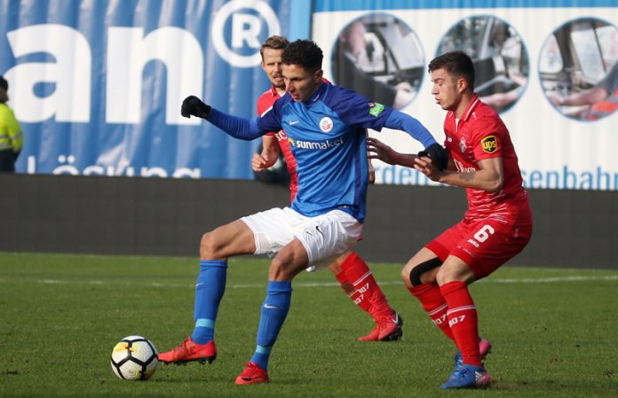 24. Spieltag 17/18: Hansa Rostock - Würzburger Kickers