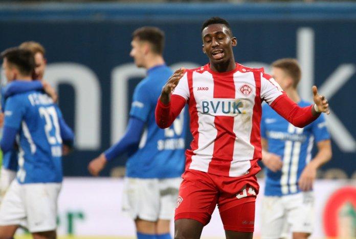 17. Spieltag 19/20: Hansa Rostock - Würzburger Kickers - Bild