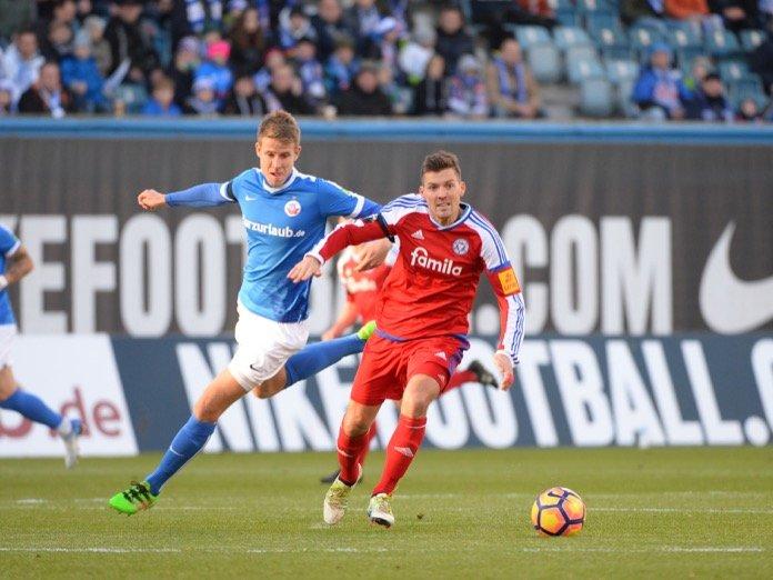 36. Spieltag; Holstein Kiel – FC Hansa Rostock