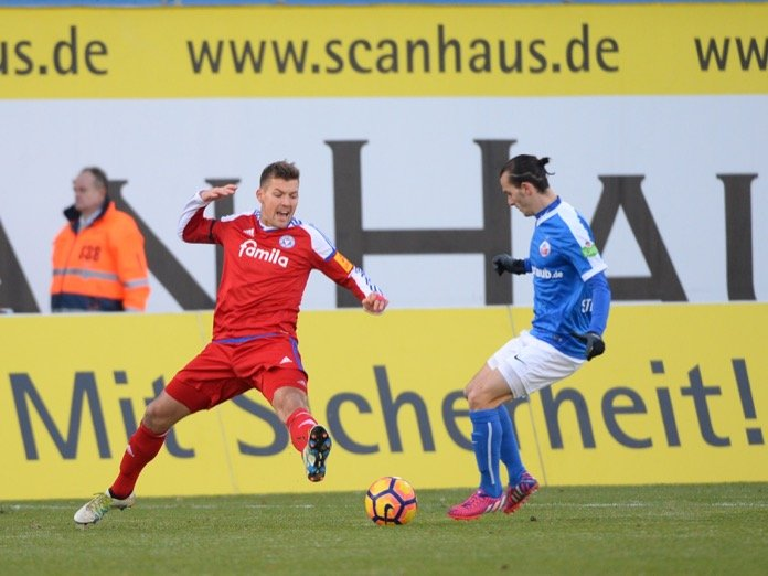 17. Spieltag 16/17: Hansa Rostock - Holstein Kiel