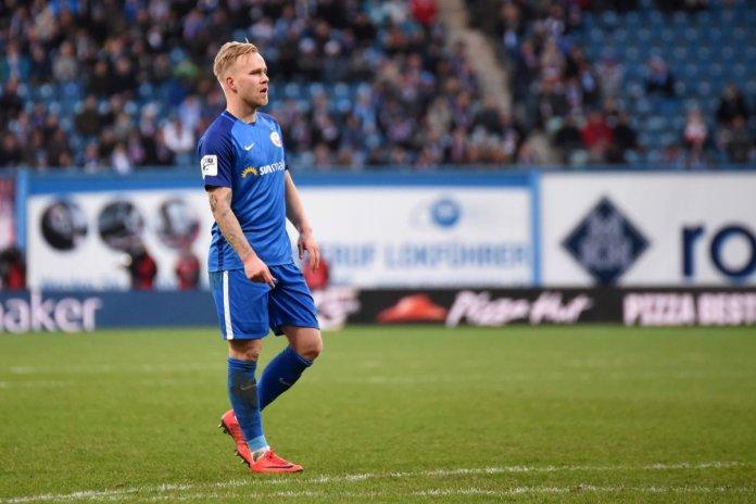 20. Spieltag 17/18: Hansa Rostock - Sportfreunde Lotte - Bild