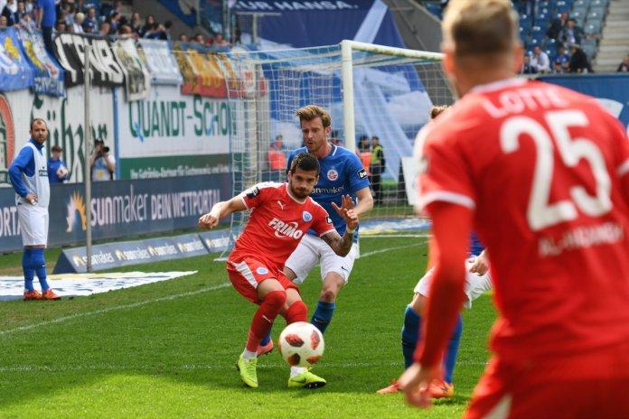 35. Spieltag 18/19: Hansa Rostock - Sportfreunde Lotte