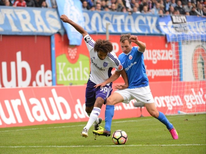 11. Spieltag 16/17: Hansa Rostock - VfL Osnabrück
