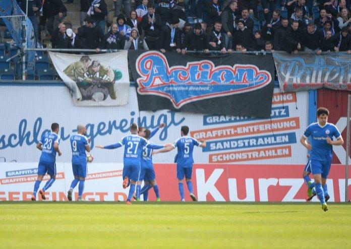 29. Spieltag 16/17: Hansa Rostock - SC Paderborn 07