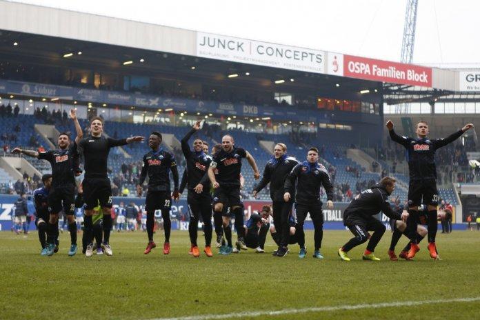 29. Spieltag 17/18: Hansa Rostock - SC Paderborn 07