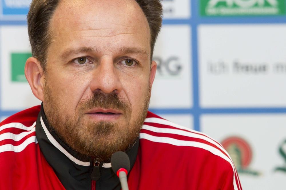 Alexander Zorniger Trainer RB Leipzig