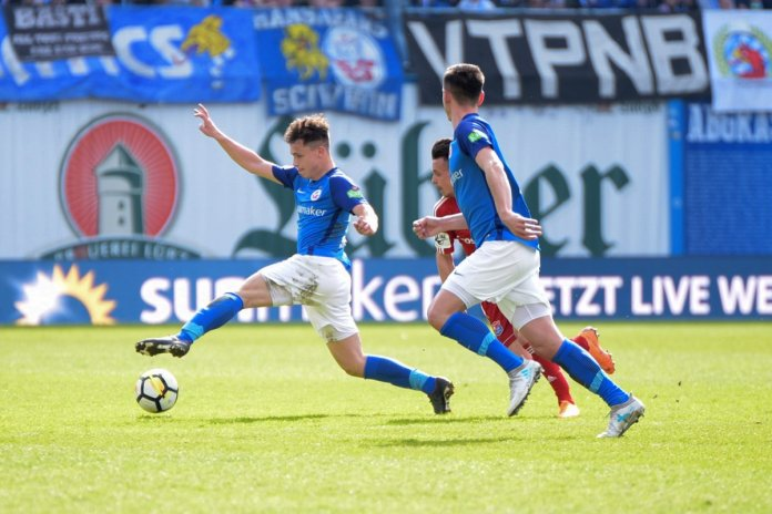 33. Spieltag 17/18: Hansa Rostock - SpVgg Unterhaching