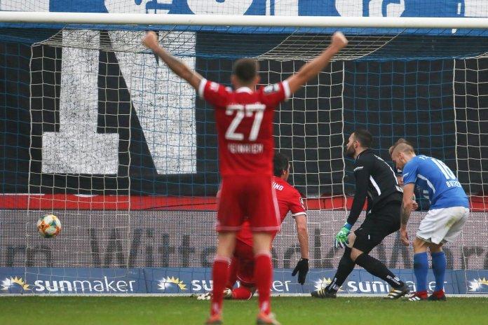 23. Spieltag 19/20: Hansa Rostock - SpVgg Unterhaching - Bild