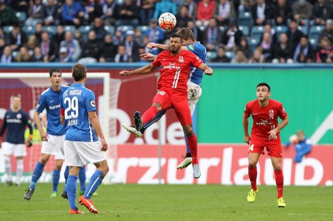 Keine Tore zwischen Rostock und Würzburger Kickers - Spielbericht + Bilder