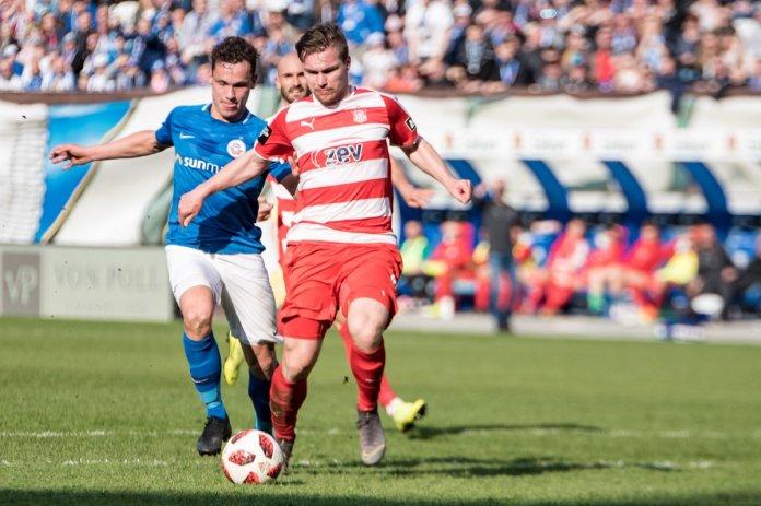 31. Spieltag 18/19: Hansa Rostock - FSV Zwickau - Bild