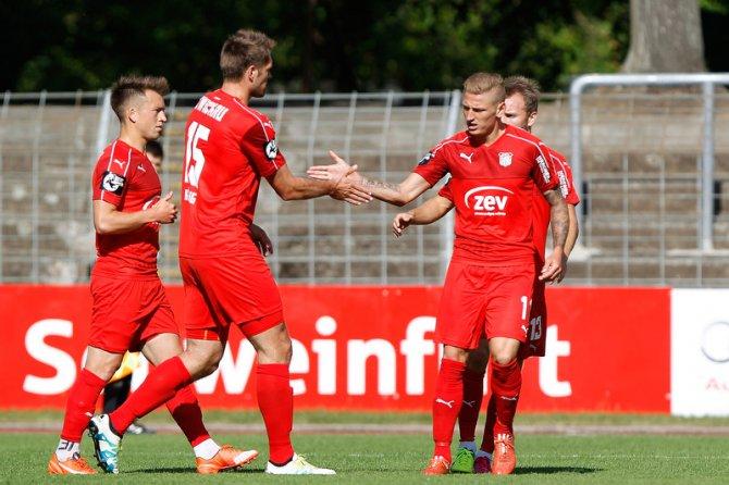 4. Spieltag; FSV Zwickau – SV Wehen Wiesbaden